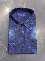 2205 Ink Paisley Long Sleeve Sport Shirt