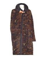 Majestic Vintage Camo Fleece Robe With Hood