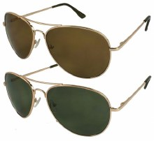 Fashion Polycarbonate Aviator Standard