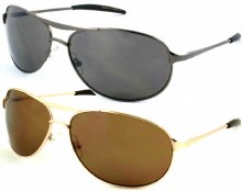 Thin Polycarbonate Aviator Over Sized