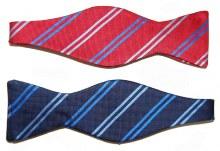 Barbara Blank Small Striped Bow Tie