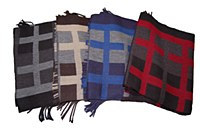 Summerfields Cross Hatch Scarf