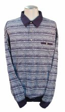 Banded Bottom Shirt Co. Geometric Knit