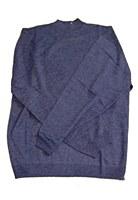 Cellinni Mock Neck Merino Wool Sweater