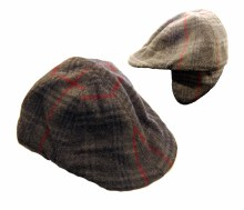 Magill Checkered Fashion Cap