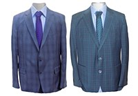 Reda Collection Plaid Sport Coat