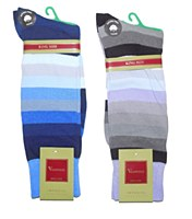 Vannucci King Size Colourful Dress Sock