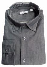 Big & Tall Denim Inspired Dress Shirt