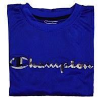 Champion Short Sleeve Solid Crew Side Panel Performance Shirt