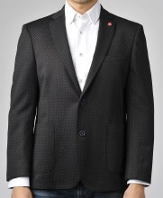 Luchiano Visconti Classic Black Speck Sport Coat