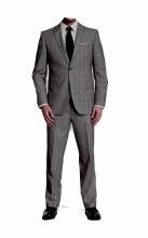 Jack Victor Reda Dry Sense Plaid Suit