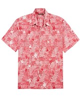 Tori Richard Tropical Red Short Sleeve Shirt