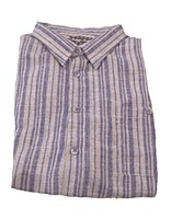 Indygo Smith Stripe Camp Shirt