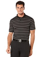 Callaway Ventilated Stripe Polo Shirt