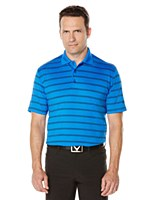 Callaway Ventilated Stripe Polo Shirt