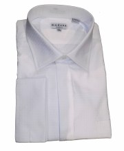 Summerfields Square Ckeck French Cuff Dress Shirt
