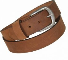 Boston Leather Copper Explorer Belt