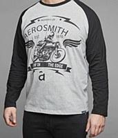 Authentic Licenced Aerosmith Long Sleeve T-Shirt