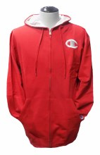 Champion Red Full Zip Hoodie