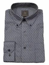 FX Fusion Mini Check Long Sleeve Sport Shirt