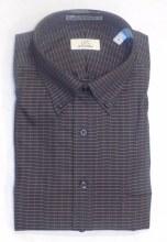 Cooper & Stewart Charcoal Long Sleeve Sport Shirt