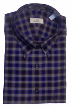 Cooper & Stewart Large Check Long Sleeve Sport Shirt