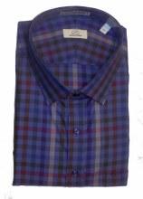 Cooper & Stewart Check Long Sleeve Sport Shirt