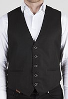 Luchiano Visconti Solid Suit Vest
