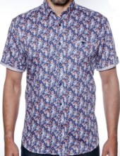 2205 Ink Cobalt Short Sleeve Sport Shirt