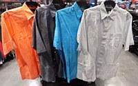 Pete Huntington Solid Short Sleeve Casual Shirt