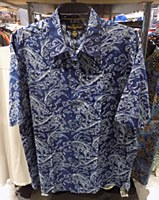 Pete Huntington Fin Addict Short Sleeve Casual Shirt