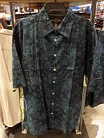 Pete Huntington Night Snow Short Sleeve Casual Shirt