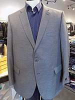 Jean-Paul Germain Navy Check Sport Coat