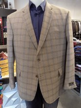 Jean- Paul Germain Windowpane Sport Coat