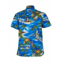 Tropics Surfs Up Casual Shirt