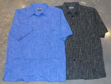 Indygo Smith Crosshatch Laid Back Shirt