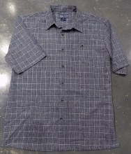 Indygo Smith Windowpane Laid Back Shirt