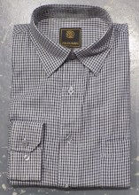 FX Fusion Geo-Print Long Sleeve Sport Shirt