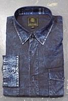 FX Fusion Denim Long Sleeve Sport Shirt