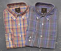 FX Fusion Gingham Long Sleeve Sport Shirt