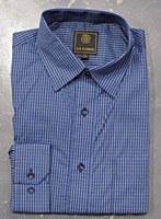 FX Fusion Blue Mini Long Sleeve Sport Shirt