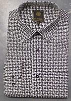 FX Fusion Black Check Long Sleeve Sport Shirt