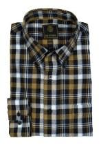 FX Fusion Gingham Pane Long Sleeve Sport Shirt