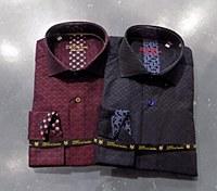 2205 Ink Dot Long Sleeve Sport Shirt