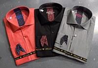 2205 Ink Diamond Long Sleeve Sport Shirt