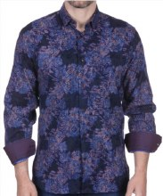 Luchiano Visconti Lapis Long Sleeve Sport Shirt