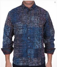 Luchiano Visconti Vegas Long Sleeve Sport Shirt