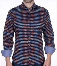 Luchiano Visconti Autumn Stretch Long Sleeve Sport Shirt