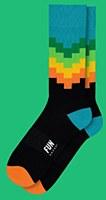 Fun Socks Geo Stripe