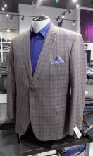 Jean Paul Germain Plaid Sport Coat